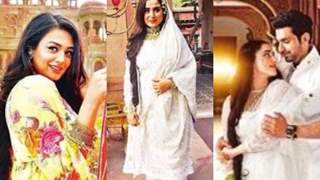 Arjit Taneja-Simone Singh-Samiksha Jaiswal Shoot in Bikaner For Upcoming Show Bahu Begum!