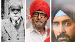 Big B shares a 3 generation pic which is a proof that handsome genes run in the family!