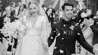 Sophie Turner-Joe Jonas look straight out of a Fairy Tale in their First Wedding Photo
