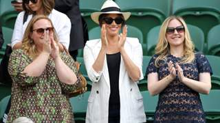 Meghan Markel in the radar of controversy with her appearance at Wimbeldon!