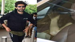 Who is this mystery girl who came to drop Kartik Aaryan off at the airport??