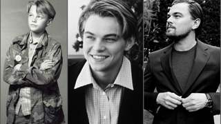 Leonardo DiCaprio has been a king of expressions since he was young; these pictures are a proof!