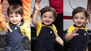 Sunny Leone's twins Asher & Noah are paparazzi friendly; Cute Video Below
