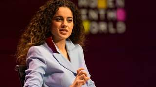 "Kangana Ranaut denies joining Politics says, ""I will not be able to express my opinions!"""