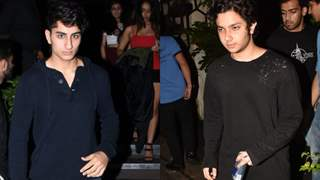 Ibrahim Ali Khan Spotted Partying with Nirvaan Khan: It was a Boys Night Out for Star Kids: Pics Below