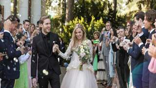 YouTuber Felix Kjellberg aka PewDiePie gets married to his long time girlfriend Marzia Bisognin