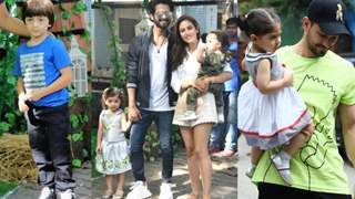 Star-toddlers arrive at Misha Kapoor's birthday bash! Photos Inside...