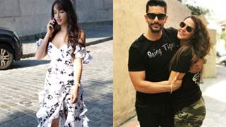 Nora Fatehi Flees to Avoid Encounter with Ex BF Angad Bedi & his Wife Neha Dhupia at an Event!