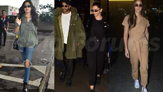 Deepika, Ranveer, Katrina, Janhvi and more: Best airport looks of the week