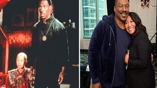 Eddie Murphy Reunited with Co-star from 'The Golden Child' 33 Years Later