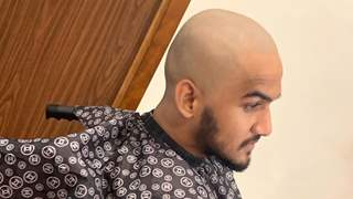 Faisal Khan Shaves off His Hair!