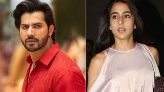 Varun Dhawan and Sara Ali Khan Coolie No 1 set catches fire!