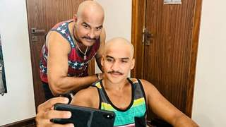 Faisal Khan's Dad Goes Bald: Like Father, Like Son!