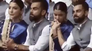 Anushka Sharma consoles an Emotional Virat Kohli; Photos and Videos below…