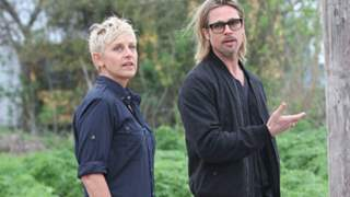 Ellen DeGeneres and Brad Pitt confess they might share an ex-girlfriend!