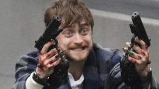 Daniel Radcliffe On Weapons Being Nailed To His Hands for 'Guns Akimbo'
