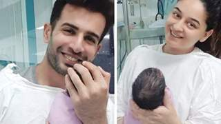 Mahhi Vij and Jay Bhanushali finally reveal  their Baby Girl's Name!