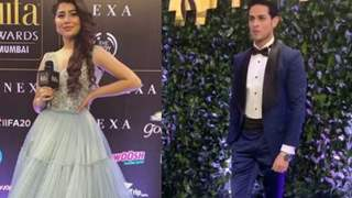 IIFA 20: Aditi Bhatia & Priyank Sharma dazzle as the green carpet hosts!