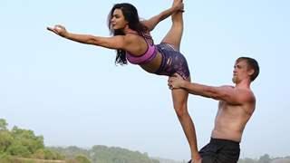 Aashka Goradia & Husband Brent Goble Restore 150 Year Old Portuguese Home To Start A Yoga Shala