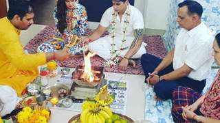 Yuvika Choudhary & Prince Narula Celebrate Their 1st Anniversary With a Havan