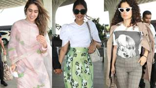 Sonam Kapoor, Kangana Ranaut and more: This Week's Best Airport looks