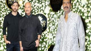 Hrithik Roshan, Ajay Devgn among others attend Anand Pandit's Diwali bash