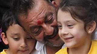 Sanjay Dutt Pens a Heartwarming Message for his Children as they turn a year older