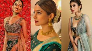 Inspired From TV World's Best Actresses Here Are 5 Dresses For Your Mehendi Party