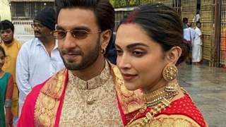 Deepika-Ranveer visit Venkateswara Temple to seek the almighty's blessings!