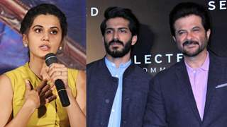 Taapsee passes a Startling Comment about Harsh: He would have been Nowhere if he was Not Anil Kapoor's Son