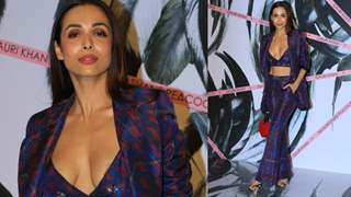 Malaika Arora Graciously Saves herself from Wardrobe Malfunction!