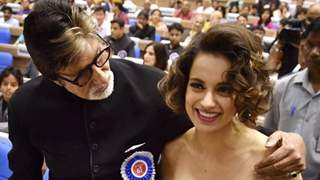 Amitabh tags Kangana Ranaut as number 1 actress!