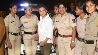 Promotion Done Right: Rani discusses women's safety with Night Patrol Police!