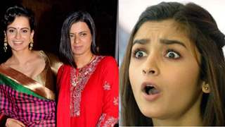 Alia Bhatt Caught Red-Handed, Rangoli Calls her Out Publicly by Posting her Video