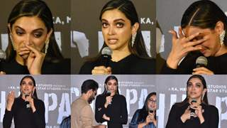 Deepika Cried her Heart Out; Pictures of the Heart-Wrenching Moment