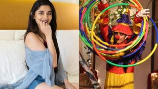 Kanika Mann Slips Into Clown's Costume!