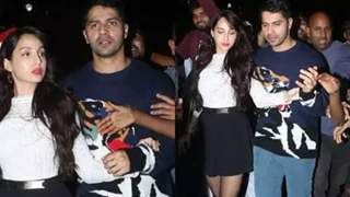Varun and Nora Thank Paparazzi for Saving them from Mob-like situation!
