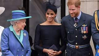 Queen Elizabeth Releases Statement on Meghan & Harry's Departure