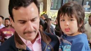 Saif Ali Khan Lost Cool But had to Maintain Calm to Take Care of Taimur: Video Below