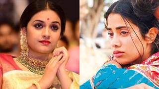 Janhvi Couldn't Stop her Tears; Crying Inconsolably she Called Up South Actress Keerthy