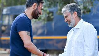 Ajay Devgn - Rajamouli Kickstar Shooting for RRR!