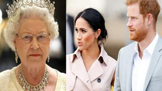 Queen Considered Stripping Harry & Meghan Off Their Royal Titles Earlier