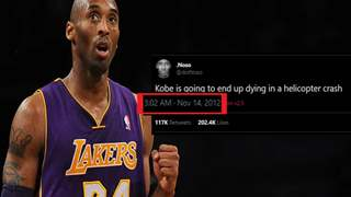 Kobe Bryant's Death Was Predicted Back in 2012?