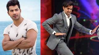 "Varun Dhawan applauds Hrithik Roshan; Says ""Hrithik Roshan has a feel in his dance!"""