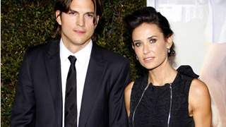 Ashton Kutcher Reveals Current Relationship With Ex Demi Moore & Her Daughters
