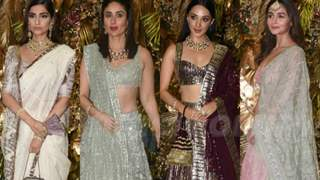 Glistening Grand Reception; Armaan Jain and Anissa Malhotra's star studded reception party
