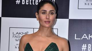 Kareena Kapoor's gorgeous green showstopper look for Lakme Fashion Week 2020