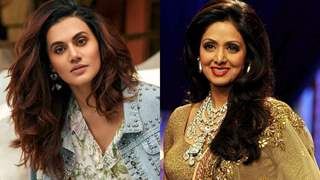 Taapsee has the most Humble response on being Compared to Sridevi!