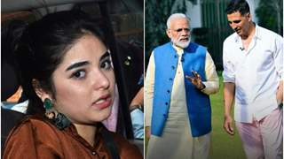 Zaira Wasim takes a Sly Dig at PM Narendra Modi