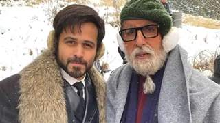Emraan Hashmi Reveals What it is Working with Amitabh Bachchan!